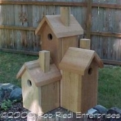 STEQUALEHO assembled birdhouse from The Birdhouse Depot.