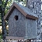MASHEL assembled birdhouse from The Birdhouse Depot.