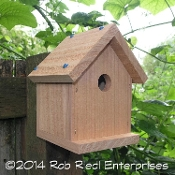 SELAH birdhouse kit from The Birdhouse Depot.
