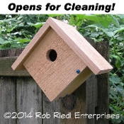 PEND OREILLE birdhouse kit from The Birdhouse Depot.