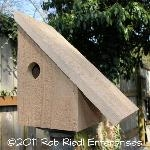 NOOKSACK birdhouse kit from The Birdhouse Depot.