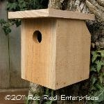 BECKLER assembled birdhouse from The Birdhouse Depot.