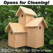 STEQUALEHO birdhouse kit from The Birdhouse Depot.
