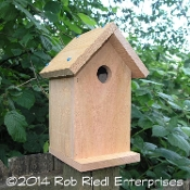 NEMAH birdhouse kit from The Birdhouse Depot.