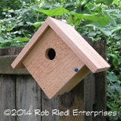PEND OREILLE assembled birdhouse from The Birdhouse Depot.