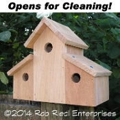 CLEARWATER birdhouse kit from The Birdhouse Depot.