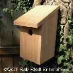 LEWIS birdhouse kit from The Birdhouse Depot.